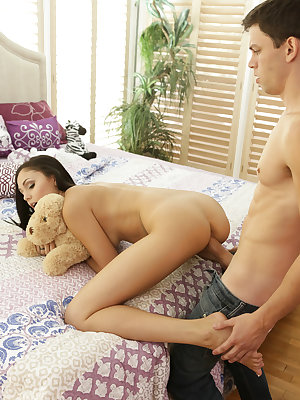 Alex D. spots his stepsister Ariana Marie doing some interesting masturbating, and after jacking himself off for a while he gets caught in the act. It takes a bit of coaxing, but Alex convinces Ariana to stroke his dick and then suck him off. Once the ste