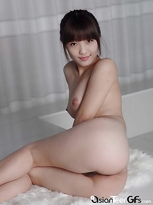 This pale Asian brunette will make you cum instantly
