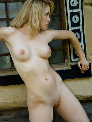Vikta is a gorgeous wholesome blonde that loves the great outdoors. Enjoy her perfectly toned petite body as she poses naked in nature.