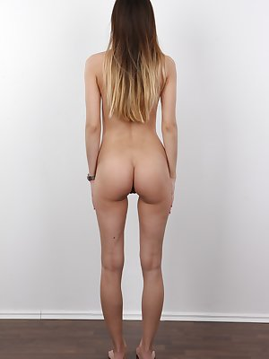 Stepanka has the perfect body for fucking. She is the true Czech beauty. Lovely brunette will charm every man with her slim body and an amazing ass. Her thigh gap is 4 fingers wide! That's the biggest gap in Europe! Man, this will drive you nuts! Ste