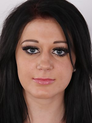 Shocking! Eva, 19, told us she had only 2 guys in her life! And she came to our studio to have sex with the third one! The whole world will see it! This lovely girl is about to study university. She has pitch-black hair and fake eyelashes that make her...