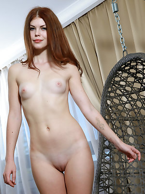 This red haired wonder has the sweetest shapes that she has some incredible fun showing off in her hot little show.