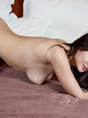 Posing nude on the wide hotel bed was the old wish of this lovely chick. Wish granted. Super sexy as well hot collection of nude pictures.