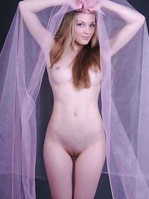 Sensuous images of a beautiful girl exposing her gorgeous naked body and nice shaven twat.