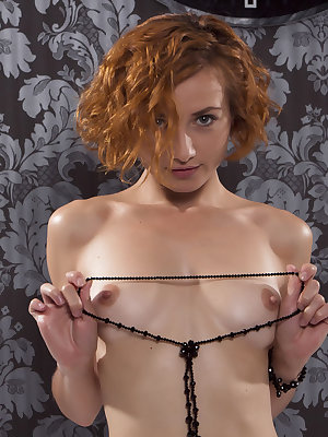 This sexy redhead knows how to tease you with her dirty fantasy as she gets wild and horny in front of you.