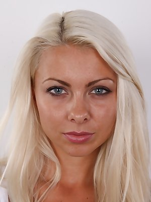 Today we imported some fine goods from Slovakia, for your pleasure only. Her name is Judita and she will make your jaw drop down so low you will hit the floor. Perfect body, blond hair and a smile that makes you forget your name and gibber like a young vi